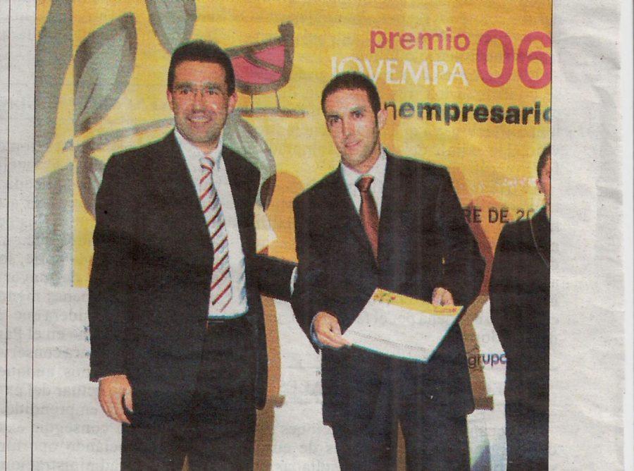 Cidoncha fue premio Jovempa 2006